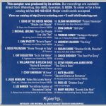 Waterbug Records: 1997, Waterbug Anthology 2, jacket back scan