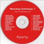 Waterbug Records: 2004, Waterbug Anthology 7, CD disc scan