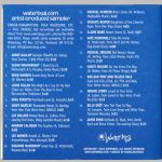 Waterbug Records: 2002, waterbug.com Artists Sampler, jacket back scan