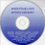 Waterbug Records: 2002, waterbug.com Artists Sampler, CD disc scan