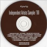 Waterbug Records: 1999, Independent Artists Sampler '99, CD disc scan