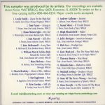Waterbug Records: 1997, Bug Soup, jacket back scan