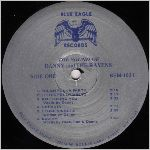 Blue Eagle Records, variety #3, LP label scan