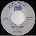 Blue Eagle Records, variety #5, 45 label scan