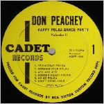 Cadet Records, variety #1, LP label scan