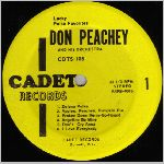 Cadet Records, variety #2, LP label scan