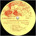 Castalia Records, LP label scan