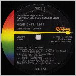 Century Records #40089 Side A, LP label scan