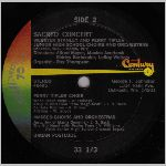 Century Records #40495 Side B, LP label scan