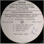 Century Records Side B, LP label scan