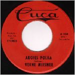 Cuca Records, variety #9, 45 label scan