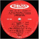 Delta Records #DRS-76-645 Side A, LP label scan