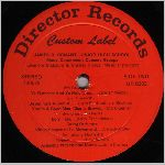 Director Records #DR-8203, 1970, LP label Side B scan
