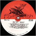 Flying Fish Records #216 Type 2, variety #2, LP label scan