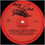 Flying Fish Records, variety #3, LP label scan