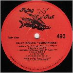Flying Fish Records, variety #4, LP label scan