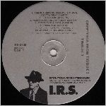 I.R.S. Records, variety #2, LP label scan