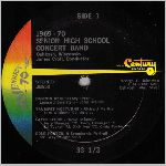 Century Records #38650 Side A, LP label scan