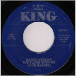 King Records (Gusto Records), variety #5, 45 label scan