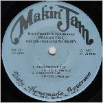 Makin' Jam Etc. Records MJ-1002, 7 in. EP 33-1/3 label scan