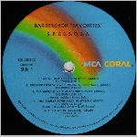 MCA Coral Records, LP label scan