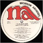Michigan Archives Records, variety #3, LP label scan