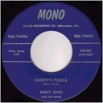 Mono Records, variety #1, 45 label scan