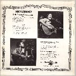Mountain Railroad Records #MR-52774, LP back jacket scan