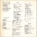 Mountain Railroad Records #MR-52775, lyrics flyer insert side B scan