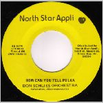 North Star Appli. (NSA) Records, variety #2, 45 label scan