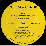 North Star Appli. Records, variety #1, LP label scan