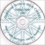 Oshkosh North High School #ONC-101298, CD label scan
