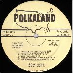 Polkaland Records, variety #5, LP label scan