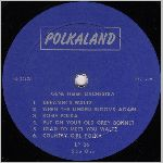 Polkaland Records, variety #7, LP label scan