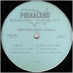Polkaland Records, variety #2, LP label scan