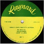 Raynard Records, variety #1, LP label scan