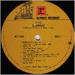 Reprise Records, LP label scan