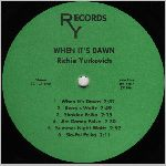 RY Records, variety #1, LP label scan
