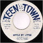 Teen Town Records, variety #1, 45 label scan
