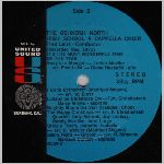 United Sound Records #USR-6139 Side B, LP label scan