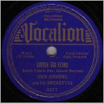 Vocalion Records, variety #1, 78 label scan