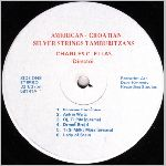 American-Croatian Silver Strings Tamburitzans  self release?, unknown label name, LP label scan