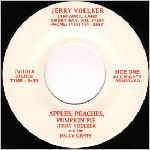 Jerry Voelker  self release?, unknown label name, variety #2, 45 label scan