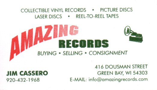 Folklib index wisconsin music business cards green bay amazing records card reheart Gallery