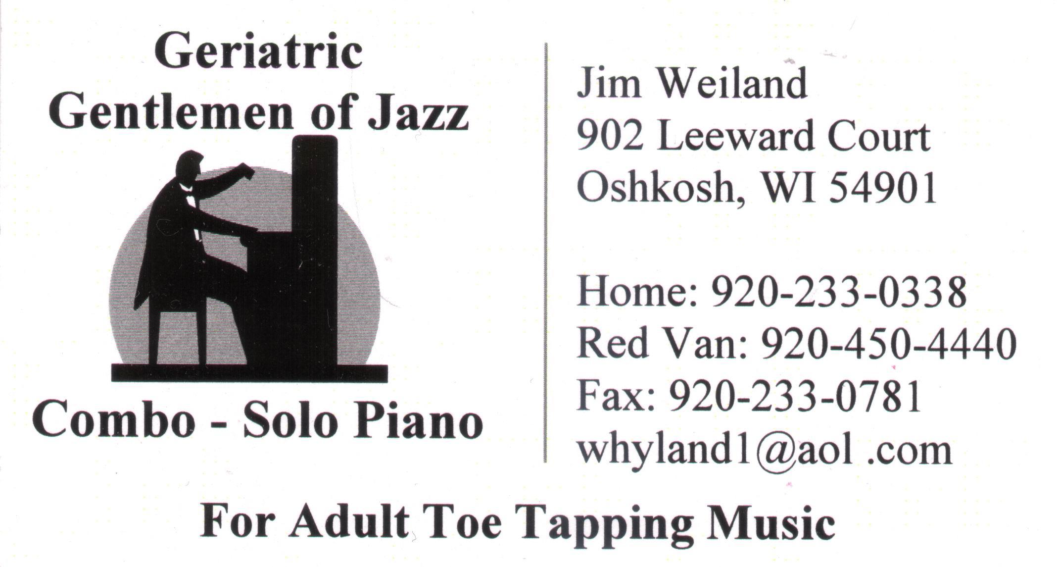 FolkLib Index Wisconsin Jazz Musicians