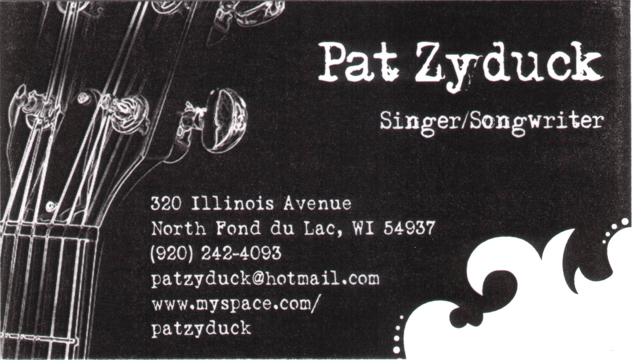 Folklib index wisconsin music business cards url magicingreecefo Images