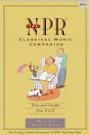 #8n -- Hoffman The NPR Classical Music Companion: Terms and Concepts from A to Z, 1997