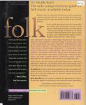 #fq -- Walters, Neal, Brian Mansfield MusicHound Folk: The Essential Album Guide 1998 (back cover)