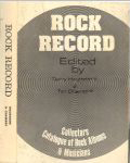 #hounsome79 -- Hounsome & Chambre Rock Record: Collectors Catalogue of Rock Albums & Musicians, 1983 (spine & front cover)