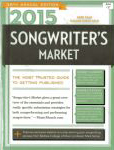#sm15 -- Duncan, James 2015 Songwriter's Market (front cover)